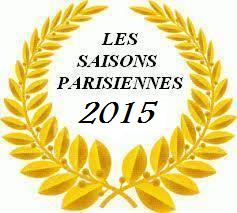 Palmares Les Saisons Parisiennes 2015